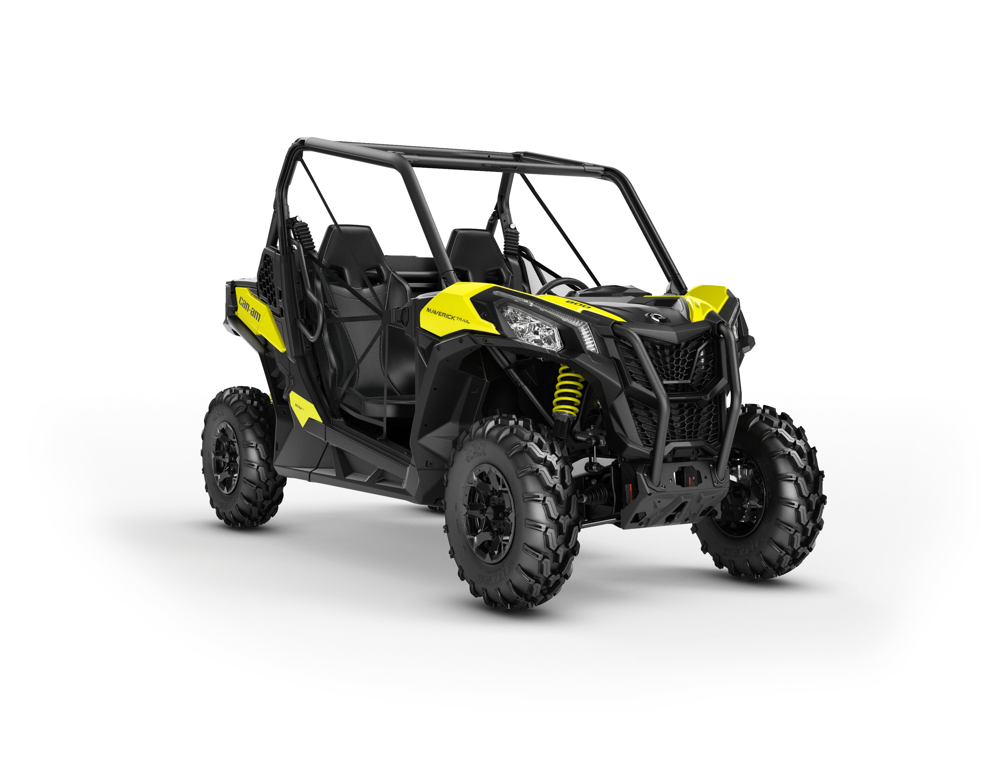2018 Maverick Trail DPS 800 Sunburst Yellow_3-4 front