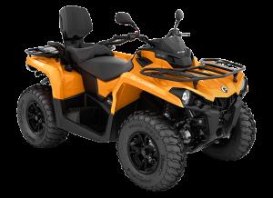 2018 Outlander MAX DPS 570 Orange T3 ABS_3-4 front