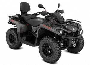 2018 Outlander MAX XT 570 pure magnesium T3 ABS_3-4 front